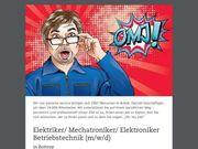 Elektriker Mechatroniker Elektroniker Betriebstechnik m