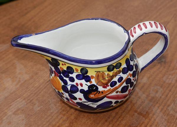 Spanische Keramik Milchschütte