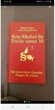 Kein Alkohol für Fische unter
