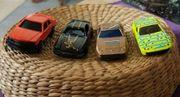 4 Vintage Diecast Spielzeug Autos