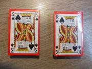 2 Kartensets - ORIGINALVERPACKT