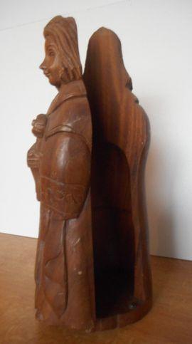 Sonstige Antiquitäten - seltene alte Holzfigur Unikat Vollholz