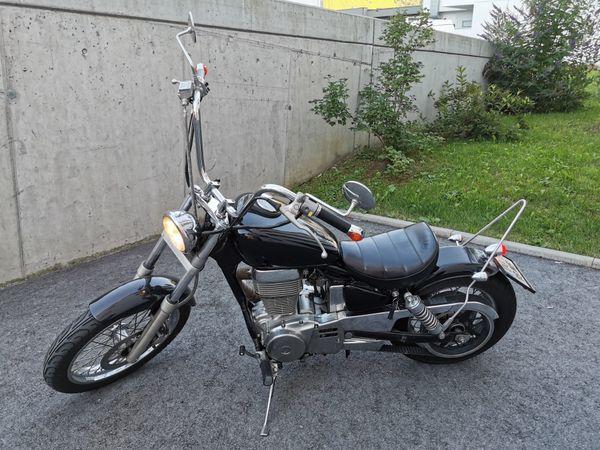 Suzuki LS650 Bobber