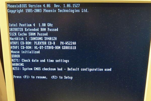 Fujitsu siemens W600 PC Pentium4