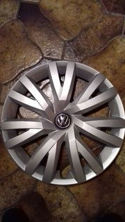 4 Original VW Radkappen Radzierblenden