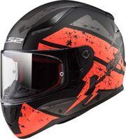 Helm LS2 DEADBOLT schwarz-neonorange XS
