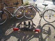 Fahrradträger für die Anhängerkupplung mit