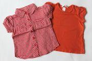 Shirt und karierte Bluse H