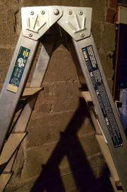 Alu-Leiter Doppelstufenleiter Aluminium