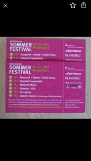 2 Sommerfestival Pass Pässe Rosenheim