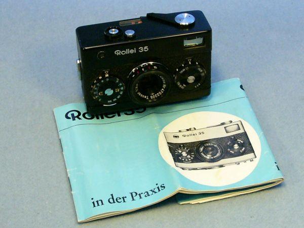 Rollei 35 schwarz Germany Rarität