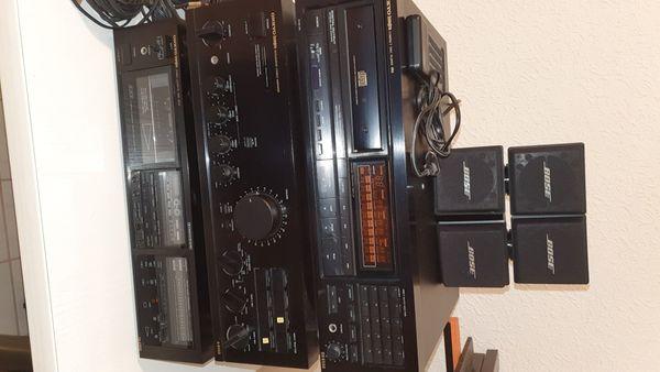 ONKYO Stereoanlage mit BOSE Lautsprechern
