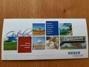 Weber Busreisen Bustouristik Wertgutschein 200