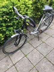 Damen Fahrrad Alu Citybike Markenrad