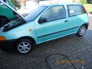 Fiat Punto mit Motorschaden in