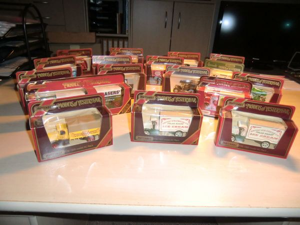 45 Matchbox Modellautos Models of