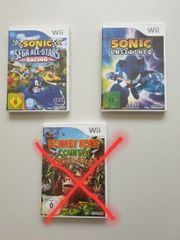 Wii Spiele Sonic unleashed Sonic