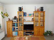 Verkaufe Massive Echtholz Wohnwand Kiefer
