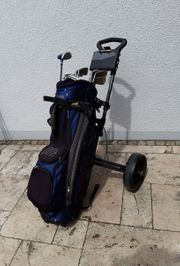 Golf Set mit Cartbag Mizuno