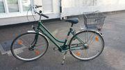Jungherz 28 Zoll grünes Damenfahrrad