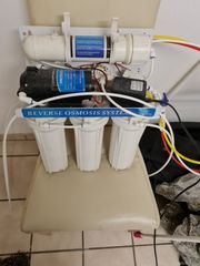osmoseanlage mit förderpumpe