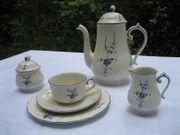 Tee- Kaffeeservice Vieux Luxemburg von