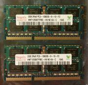 RAM Arbeitsspeicher Notebook Hynix 4GB