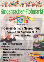 Großer Kindersachen-Flohmarkt