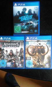 3 PS4-Spiele