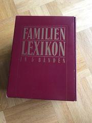 Familien-Lexikon in 5 Bänden
