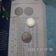 5 DM Silberadler 1951 D