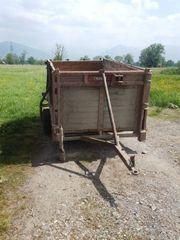 Anhänger für Vieh Transport