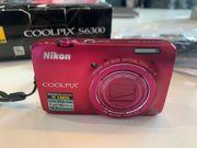 Nikon Kamera Coolpix S6300 rosa