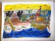 Gemälde - Pirateninsel