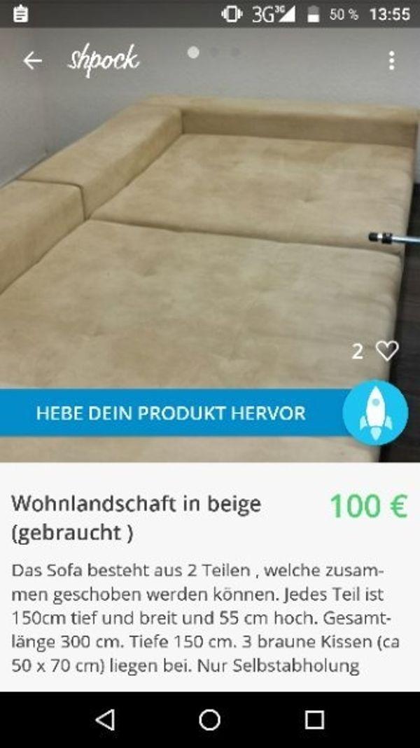 Wohnlandschaft Gunstig Zu Verkaufen In Kleinkarlbach Polster