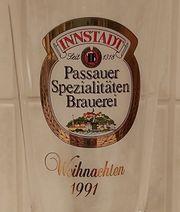 Pokal Passauer Innstadt Ansicht Brauerei