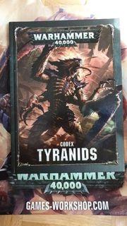 Warhammer 40k Tyraniden codex