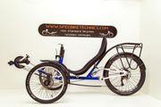 Liegerad Recumbent Dreirad Trike MetallrahmenS235