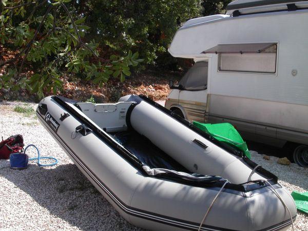 Schlauchboot mit Motor » Kanus, Ruder-,Schlauchboote