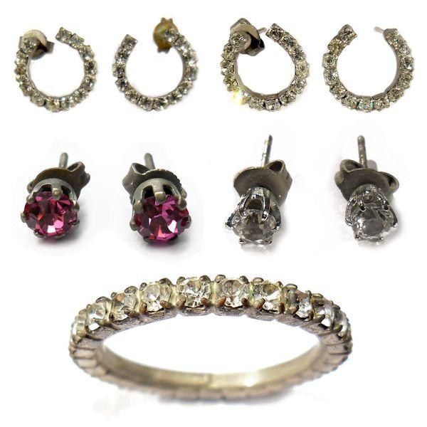 Schmuck Ketten Uhren Ringe Ohrringe