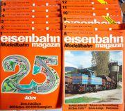 Eisenbahn Magazin Modellbahn Januar-Dezember 1988
