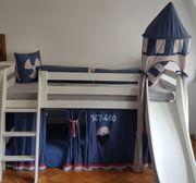 Spielbett halbhohes Bett