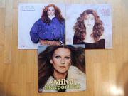 3x Milva - LPs Vinyl