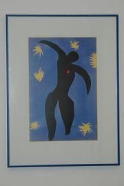 Gerahmtes Bild Henri Matisse Ikarus