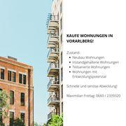 Kaufe Wohnungen in Vorarlberg