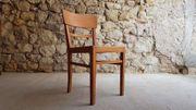 1 v 8 Holz Stühle