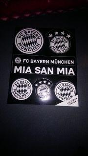 fc Bayern München aufgleber