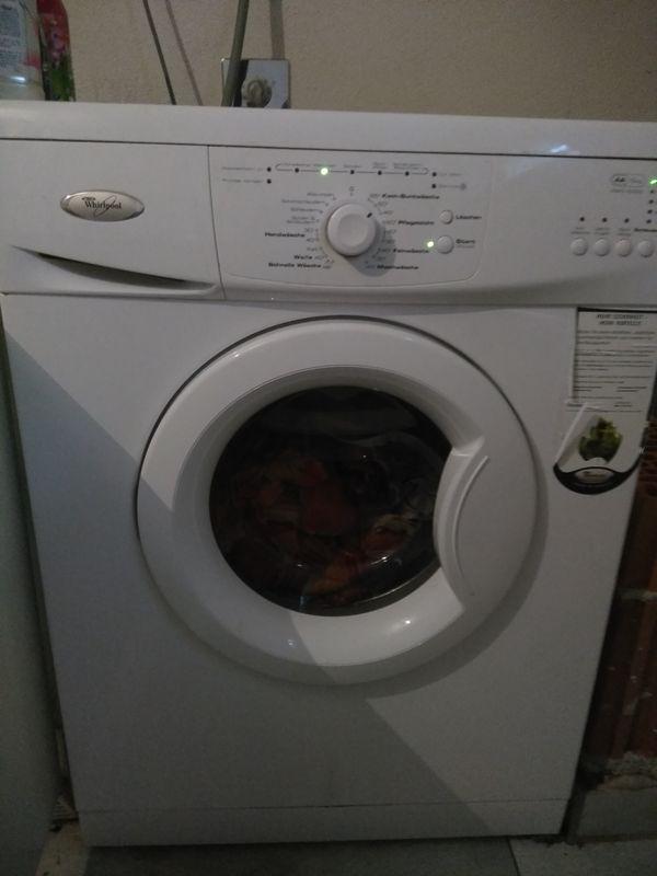 whirlpool waschmaschine gebraucht kaufen nur 4 st bis. Black Bedroom Furniture Sets. Home Design Ideas