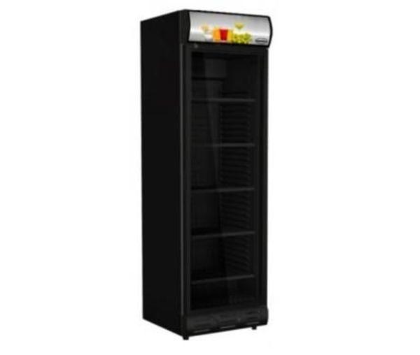 Kühlschrank in Schwarz Getränkekühlschrank 382