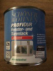 Schöner Wohnen ProfiDur Fenster- Türenlack